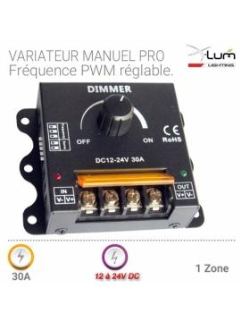 variateur led forte puissance 30A 12v 24V PWM