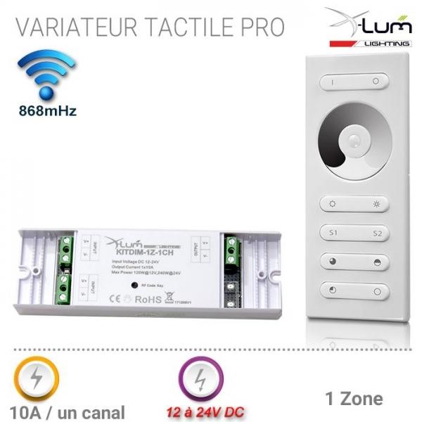 Kit variateur LED tactile pro 868mHz