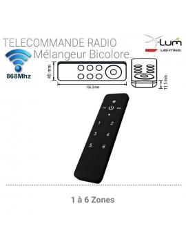 VARCTT6ZDIM256-TelecommandeRadio-VARCTT6ZDIM256