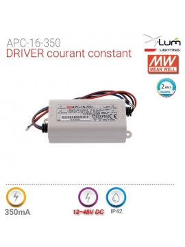Distributeur driver Meanwell APC-16-350