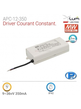 Driver courant constant APC-12-350 Meanwell