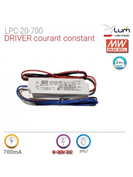 Driver courant constant Meanwell LPC-20-700