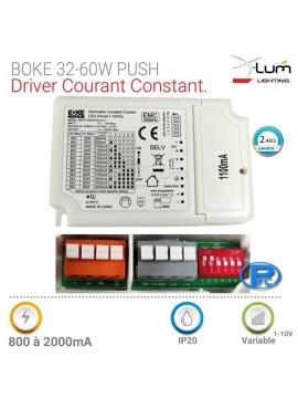 Driver LED multi courant 0-10V Boke dalle LED
