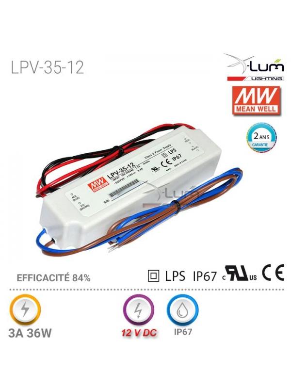 LPV-35-12 Meanwell fournisseur