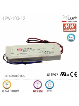 Distributeur France LPV-100-12 Meanwell