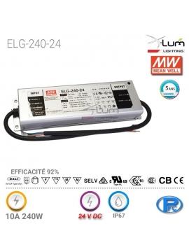 Distributeur Meanwell ELG-240-24