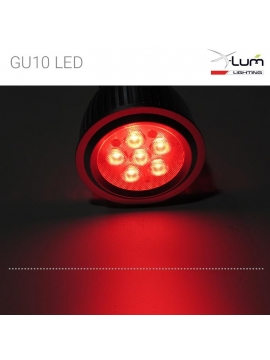 GU10 LED rouge Dimmable pro