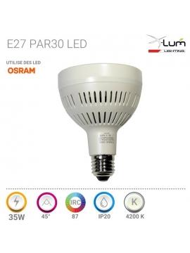 Ampoule E27 PAR30 Osram 35W 4200K