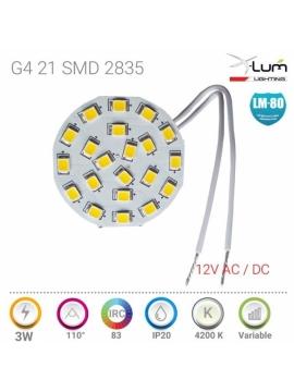 G4 LED 3W 4500K Pro
