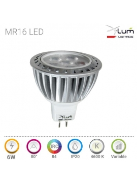 Mr16 LED 6W Pro distributeur