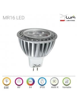 SPOT LED PIQUE JARDIN 3W NATUREL 30° 12V DC IP65