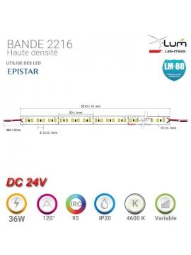 SPOT LED ENCASTRABLE TERRASSE 9W 3500K 30° 12-24V DC IP67