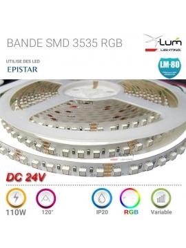 SPOT LED rgb 9w ENCASTRABLE TERRASSE 9W RGB 30° 24V DC IP67