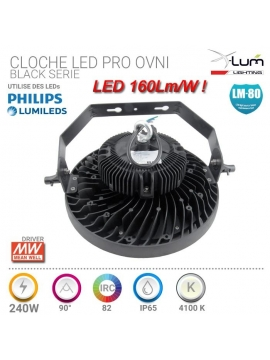 Cloche 240W industrielle Pro haut gamme