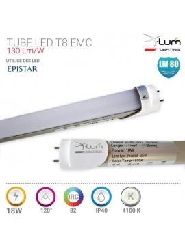 T8 LED 18W 120cm Pro EMC neutre