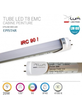 Tube LED Professionnel 20W IRC90
