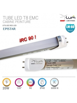 ENCASTRABLE LED 16W ROND 120° 4500K PVC