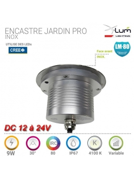 SPOT LED 34W RECTANGLE BLANC PUR 120°