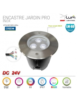 spot jardin professionnel LED X-Lum-Lighting