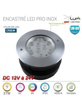 Spot LED 27W jardin forte puissance. X-Lum-Lighting