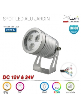 Spot Pique LED RGB jardin Pro X-Lum-Lighting