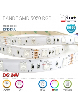 Bandeau LED 5050 72W RGB Pro X-Lum-Lighting