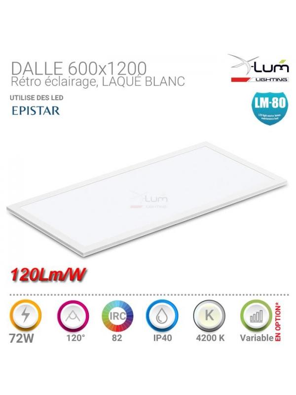 Dalle LED 600x1200 72W Pro X-Lum-Lighting