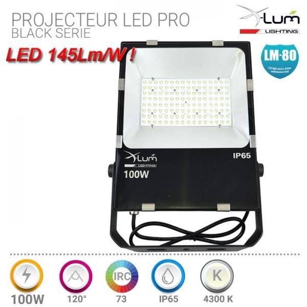 Projecteur LED 100W Pro X-Lum-lighting