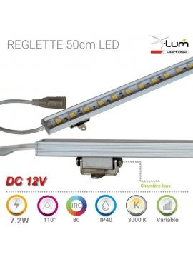 Réglette LED orientable cuisine Chaud 12v