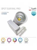 Spot LED sur Rail magasin fournisseur France X-Lum-Lighting