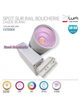 SPOT GU10 6W LED NICHIA 230V 3200K 38° DIMM