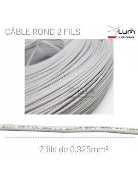 bobine câble 2 conducteurs 0.325mm²