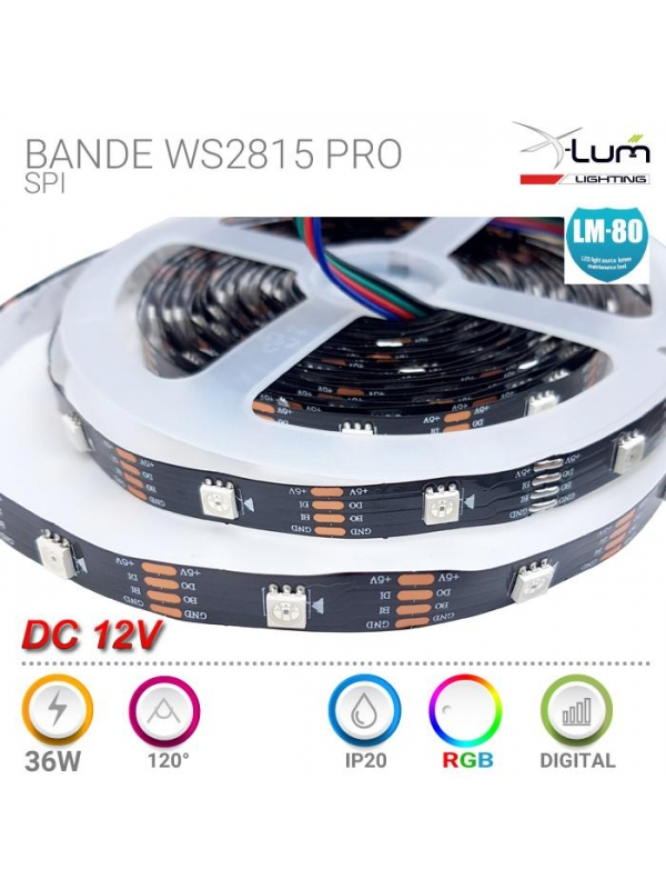 G53 LED 15W COB AR111 Blanc pur 12V 1350Lm 38° Epistar