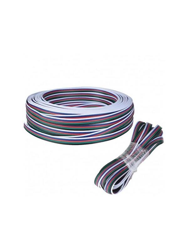Câble RGBW plat en nappe