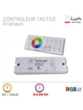 Kit télécommande RGBW radio Pro 868mHz