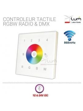contrôleur tactile led rgbw rf X-Lum-Lighting Led Eco First