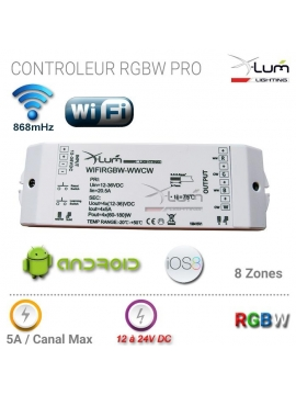 RGBW wifi contrôleur android Pro Led Eco First