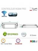 Contrôleur RGBW wifi android Pro X-Lum-Lighting