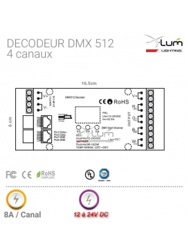 Ampoule LED E14 Flamme 4W dimmable 180°