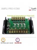Ampli LED RGBW Professionnel forte puissance 12-24v