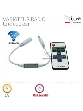 Mini télécommande variateur LED