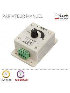 Variateur LED manuel 12v 24V 8A